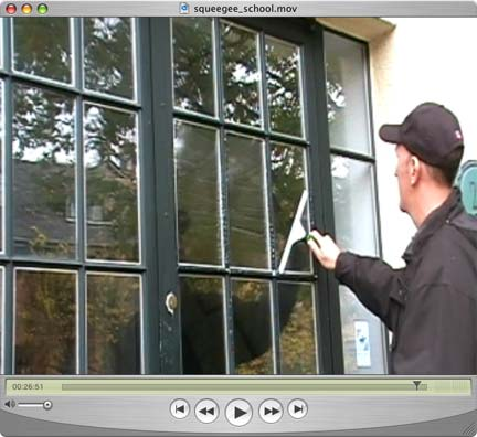 cleaning french panes